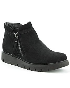 Daniel Mandevilla Black Suede Ankle Boot