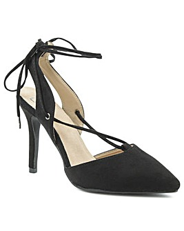 Daniel Moorfield Black Stiletto Sandal