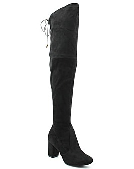 Daniel Black High Over Knee Boot