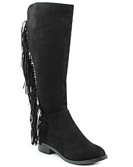 Daniel WillowPark Black Knee Boot