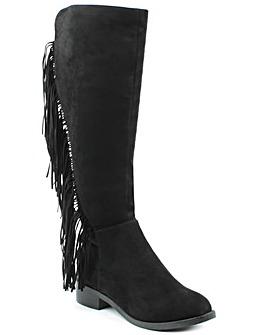 Daniel WillowPark Black Knee Boot
