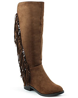 Daniel WillowPark Tan Knee Boot