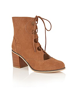 Dolcis Gwyneth lace up ankle boots
