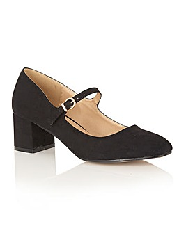 Dolcis Kiko block heel court shoes