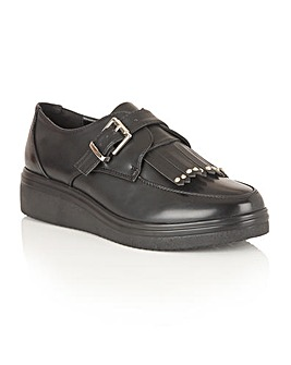 Dolcis Jack buckle fastening brogues