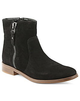 Moda In Pelle Corbella Black Ankle Boot