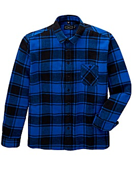 Label J Print Check Shirt Regular