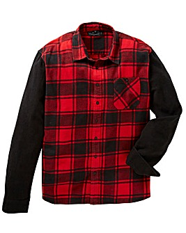 Label J Block Check Shirt Long