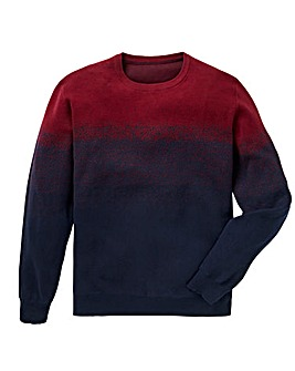 Black Label Ombre Fine Knit Regular