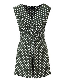 Made in Britain polka tunic top