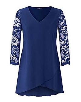 Grace Made in Britain tulip hem tunic