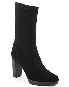 Daniel Rona Black Platform Calf Boot