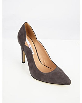 Lovedrobe Faux Suede Court Shoes