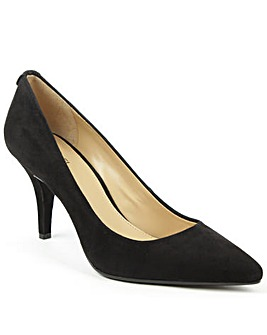 Michael Kors Black Suede Pump