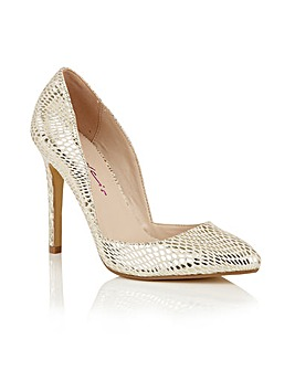 Dolcis Leticia ladies court shoes
