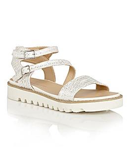 Dolcis Wonder platform strappy sandals
