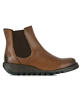 Fly London Tan Womens Chelsea Boot
