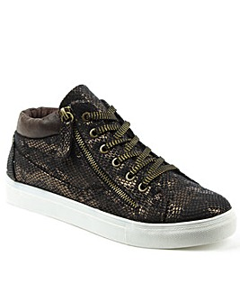 Daniel Brown Sporty High Top Trainer
