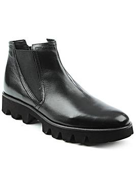 Daniel Sammie Black Chunky Chelsea Boot
