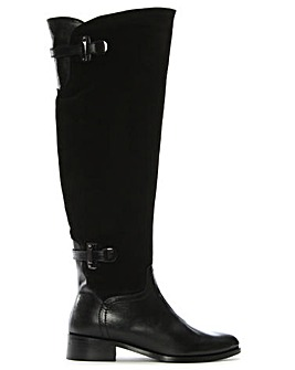 Daniel Saskia Black Over Knee Boot