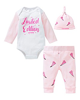 Converse Baby Girl Three Piece Set
