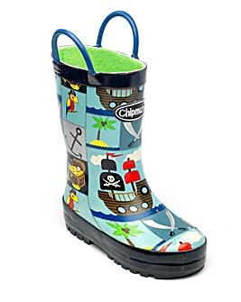 Chipmunks Pirate Wellingtons