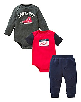 Converse Baby Boy Three Piece Set