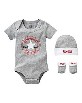 Converse Baby Bodysuit Set
