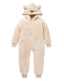 KD Unisex Teddy Fleece Onesie