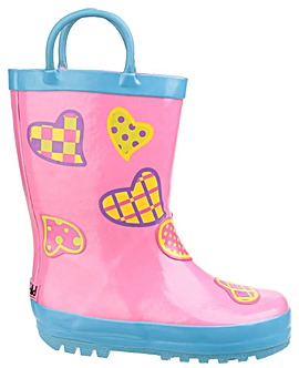 Cotswold Childrens Patterned Puddle Boot