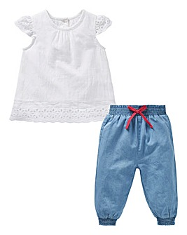KD Baby Blouse and Bloomer Set