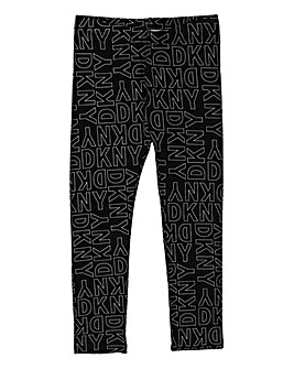 DKNY Girls AOP Leggings