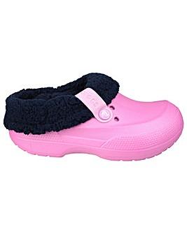 Crocs Blitzen II Kids Mule Slippers