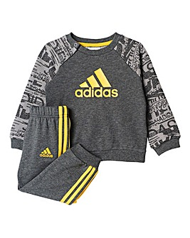 adidas Infant Boys Terry Jogsuit