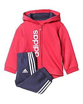 adidas Infants Girls Jogsuit