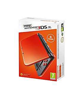 The New 3DS XL Orange and Black Console