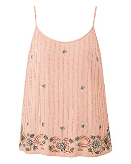 Blush Beaded Cami
