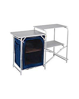 Aluminium Camping Kitchen and Table Set.
