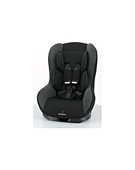 BabyStart Driver Group 1 Black Car Seat.