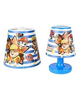 Paw Patrol 2 Piece Lighting Set.