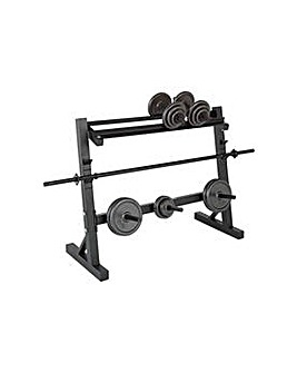 Pro Fitness Weight Rack.
