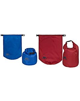 Trespass Euphoria 2Pc Dry Bag Set