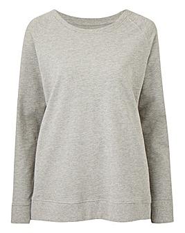 Grey Marl Jersey Sweatshirt