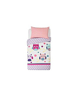 HOME Owls Bedding Set - Toddler.
