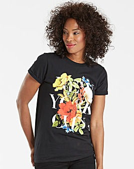 New York City Floral T-shirt