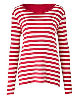 Value Cotton Long Sleeve Top
