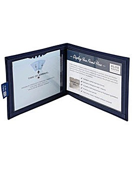 Blue Badge Co Navy Drill Fabric  Cover.