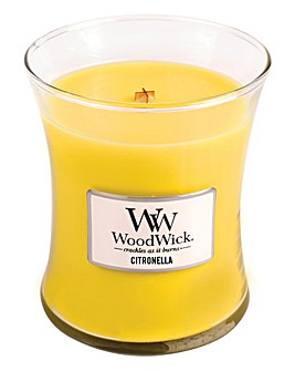 WoodWick Citronella Medium Jar Candle