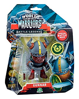 World of Warriors Gunnar Action Figure