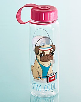 Pug Stay Cool Water Bottle